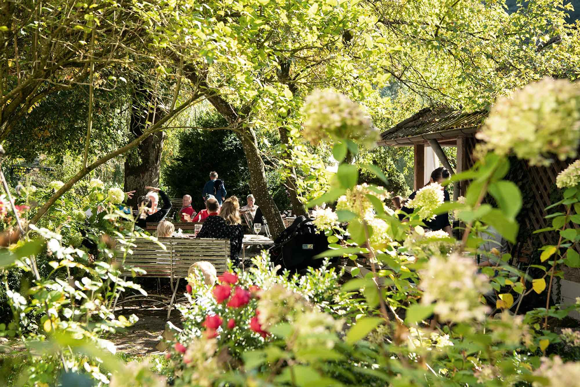 Eselsmühle Restaurant Gartenwirtschaft
