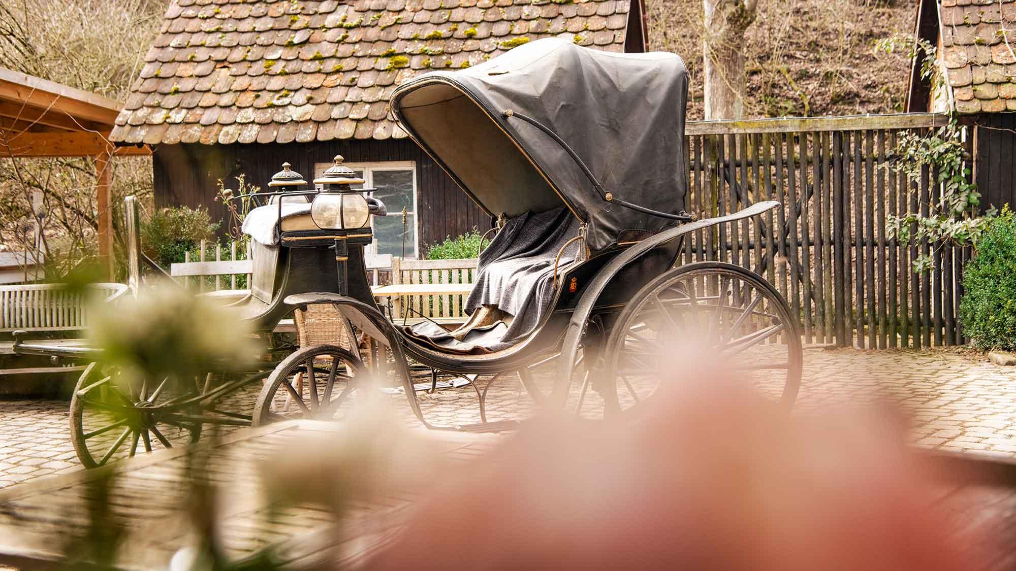 Eselsmühle Hochzeit Event Kutsche