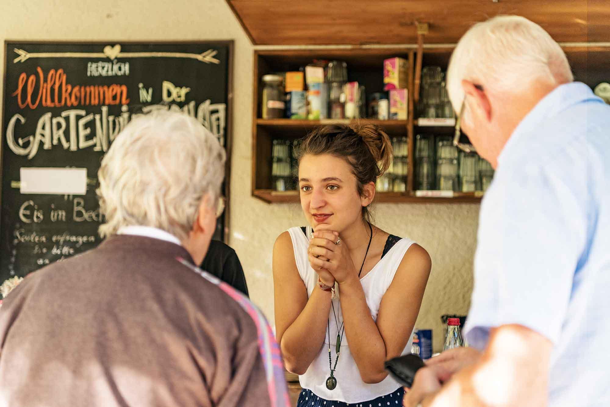 Eselsmuhle Gartenwirtschaft Bar