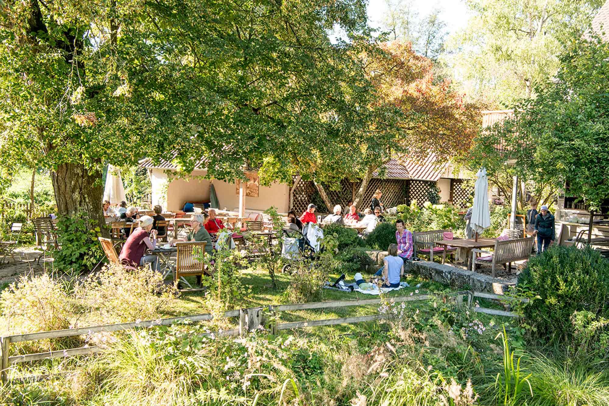 Eselsmühle Mühlenstube Gartenwirtschaft